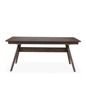 Skovby SM10 Dining Table in Walnut, Front