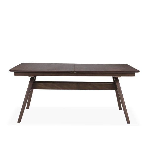 Skovby SM10 Dining Table in Walnut, Front