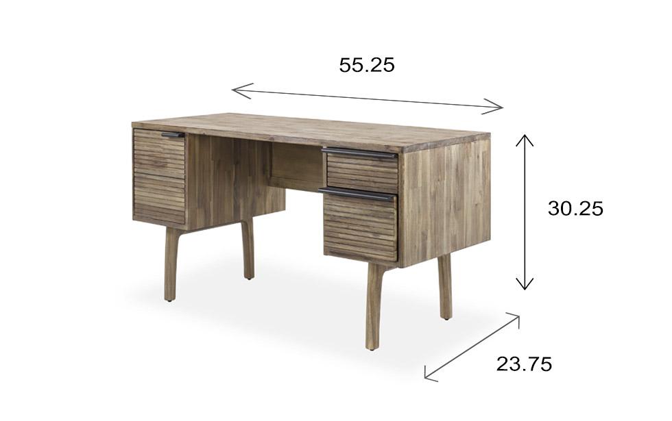 Crest Desk Dimensions