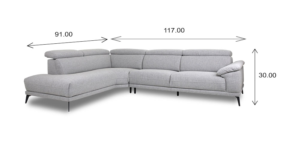 Jensen Sectional Dimensions