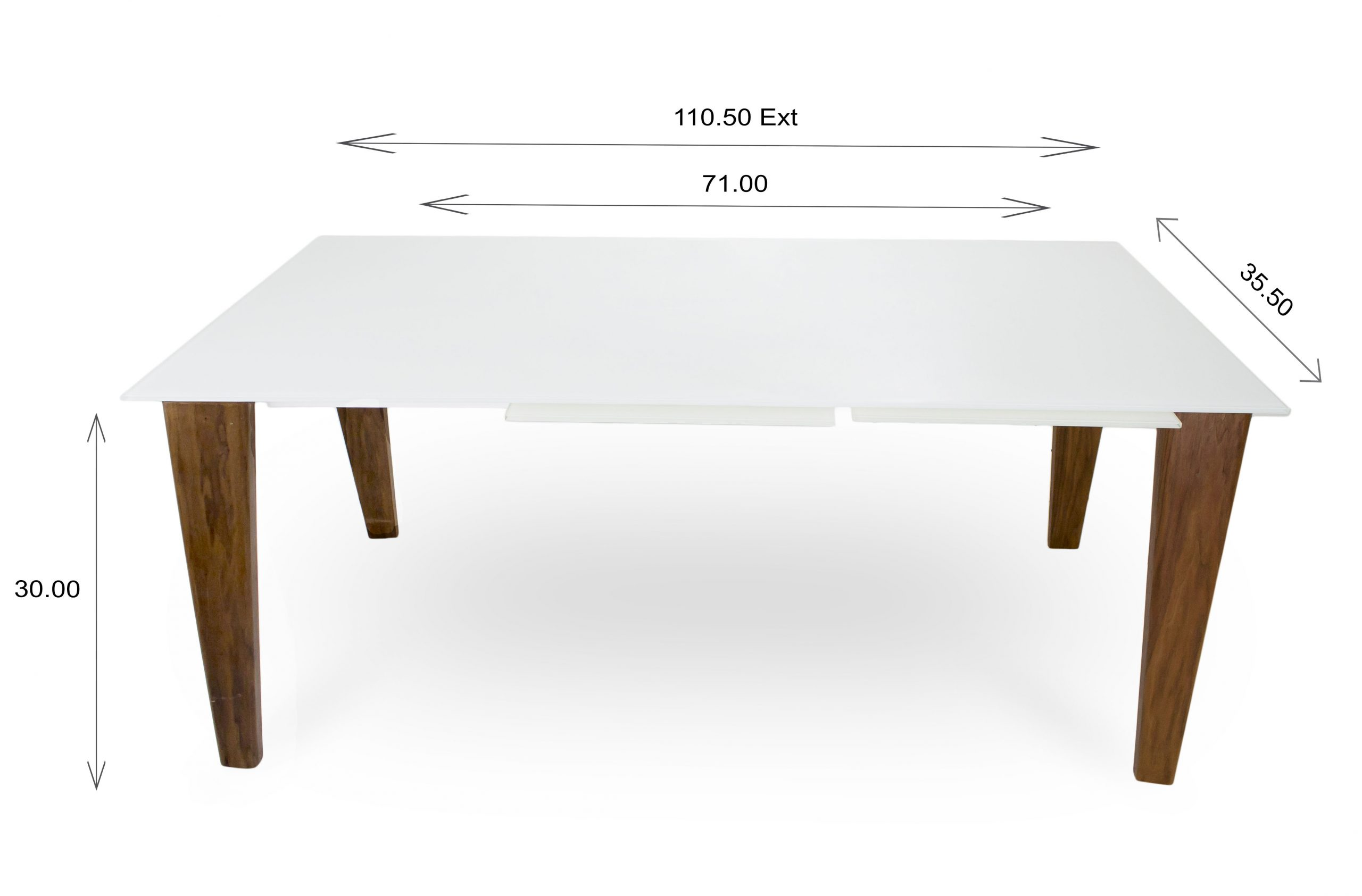 Dover Dining Table Dimensions