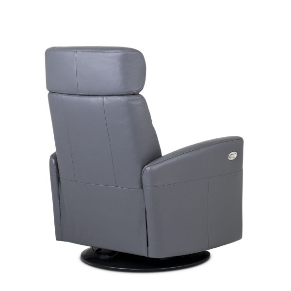 Dovre Recliner in Iron, Back