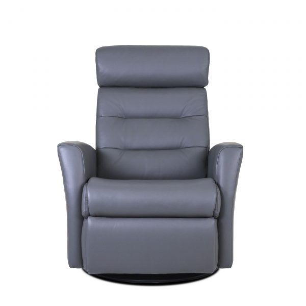 Dovre Recliner in Iron, Front