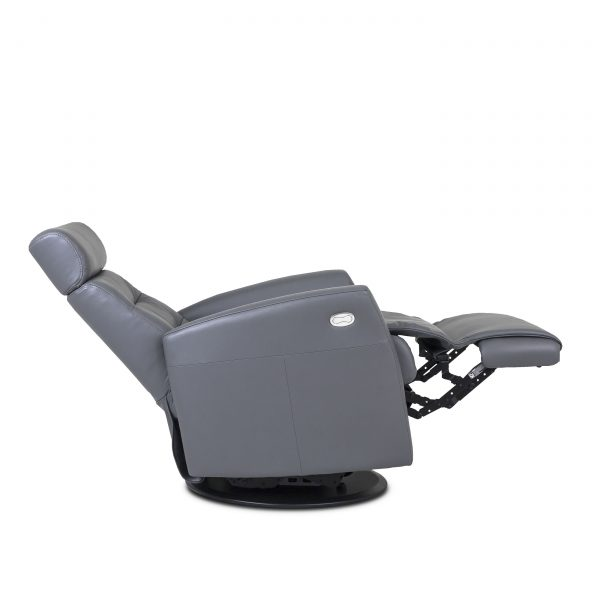 Dovre Recliner in Iron, Side