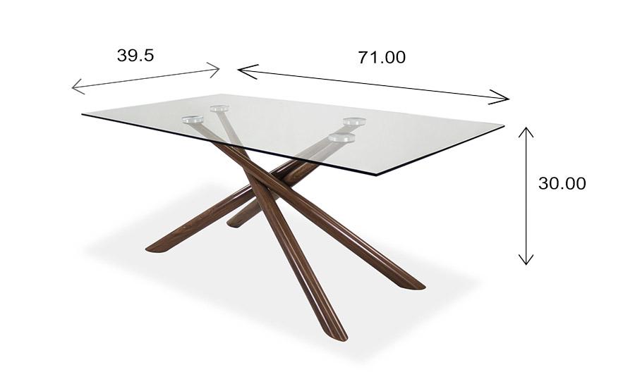 Juno Table Dimensions