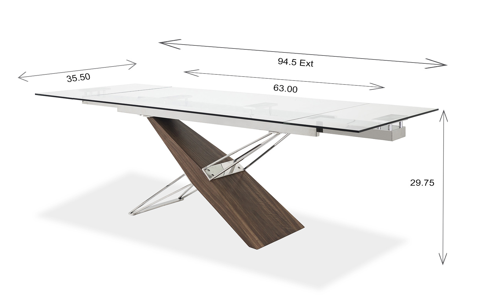 Bega Dining Table Dimensions