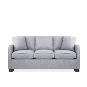 Onyx Queen Sofabed in Oyster, Front